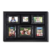 AdecoTrading 6 Opening Decorative Highly Detailed Wall Hanging Collage Picture Frame
