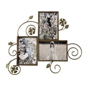AdecoTrading 3 Opening Decorative Wall Hanging Collage Picture Frame