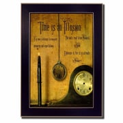 Trendy Decor 4U Time is an Illusion Deco by Billy Jacobs Framed Photographic Print