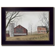 Trendy Decor 4U Mail Pouch Barn by Billy Jacobs Framed Painting Print