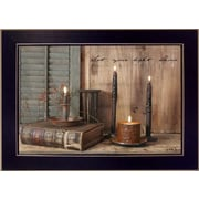Trendy Decor 4U Let your Light Shine Deco by Billy Jacobs Framed Painting Print