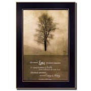 Trendy Decor 4U It's All About Love by Marla Rae Framed Painting Print
