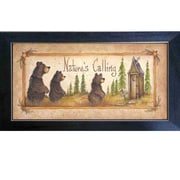Trendy Decor 4U Nature's Calling Mary June Framed Painting Print