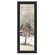 Trendy Decor 4U Promise and Peace by John Rossini Framed Painting Print