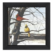 Trendy Decor 4U A View from Above by John Rossini Framed Painting Print