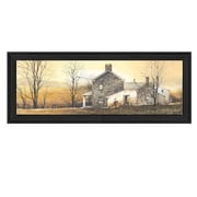 Trendy Decor 4U A New Day by John Rossini Framed Painting Print