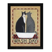 Trendy Decor 4U Wash Day by Dotty Chase Framed Painting Print