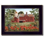 Trendy Decor 4U Summer Days by Billy Jacobs Framed Painting Print; 10'' H x 14'' W x 2'' D