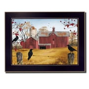 Trendy Decor 4U Autumn Gold by Billy Jacobs Framed Painting Print; 10'' H x 14'' W x 2'' D