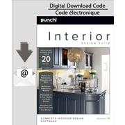 Encore Punch! Interior Design Suite v18, PC [Téléchargement]