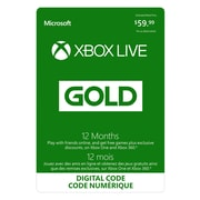 Xbox Live Gold Membership, 12 Month [Download]