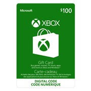 Xbox Live Gift Card, $100 CAD [Download]
