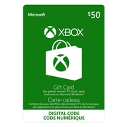 Xbox Live Gift Card, $50 CAD [Download]