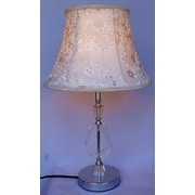 CaliforniaLighting 23.6'' H Table Lamp with Bell Shade