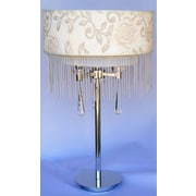 CaliforniaLighting 23.6'' H Table Lamp with Drum Shade