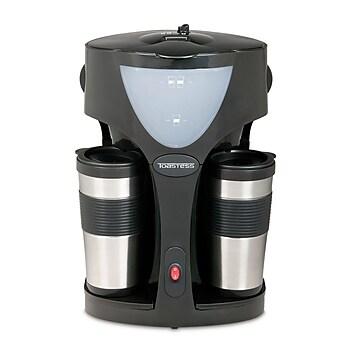 Toastess Silhouette 800-Watt Twin Coffeemaker