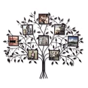 AdecoTrading 8 Opening Decorative Family Tree Wall Hanging Collage Picture Frame