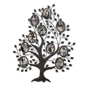 AdecoTrading 10 Opening Decorative Family Tree Wall Hanging Collage Picture Frame