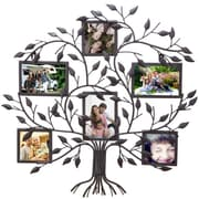 AdecoTrading 6 Opening Decorative Family Tree Wall Hanging Collage Picture Frame