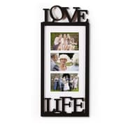 AdecoTrading 3 Opening Wall Hanging Picture Frame