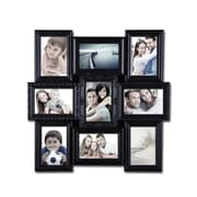 AdecoTrading 9 Opening Decorative Wall Hanging Collage Picture Frame