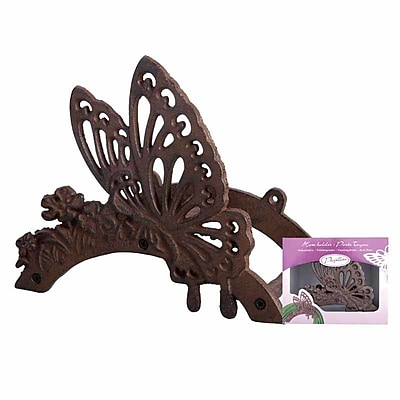 EsschertDesign Miscellaneous Butterfly Cast Iron Hose Holder WYF078278624580