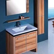 Legion Furniture 31'' Single Bathroom Vanity Set w/ Mirror and Cabinet