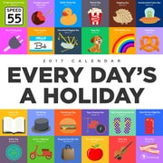 "2017 TF Publishing 12"" x 12"" Every Day's A Holiday Wall Calendar  (17-1114)"