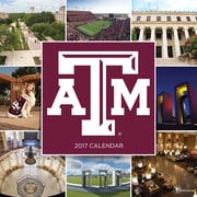 "2017 TF Publishing 12"" x 12"" Texas A&M University Wall Calendar  (17-1118)"