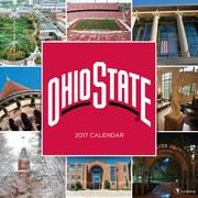 "2017 TF Publishing 12"" x 12"" Ohio State University Wall Calendar  (17-1130)"