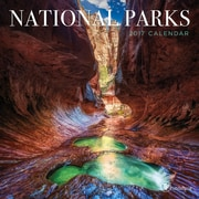 "2017 TF Publishing 7"" x 7"" National Parks Mini Calendar  (17-2093)"