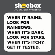 "2017 TF Publishing 5.5"" x 5.5"" Shoebox Daily Desktop Calendar  (17-3046)"