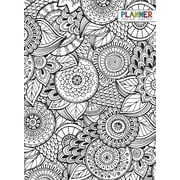 "2016-2017 TF Publishing 10.25"" x 7.5"" Color Me Monthly Simplicity Planner Academic Year (17-4018A)"