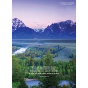 """2017 TF Publishing 10.25"""" x 7.5"""" Psalms  Simplicity Planner Academic Year (17-4085A)"""