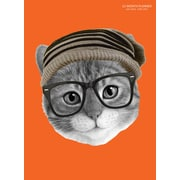 """2017 TF Publishing 10.25"""" x 7.5"""" Mr. Kitty Simplicity Planner Academic Year (17-4234A)"""