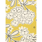 """2016-2017 TF Publishing 10.25"""" x 7.5"""" Linen Floral Simplicity Planner Academic Year (17-4239A)"""