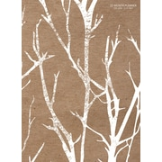 """2017 TF Publishing 10.25"""" x 7.5"""" Birch Trees Simplicity Planner Academic Year (17-4247A)"""