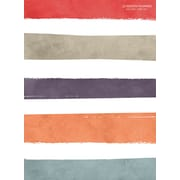 """2017 TF Publishing 10.25"""" x 7.5"""" Soothing Stripes Simplicity Planner Academic Year (17-4248A)"""