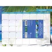 "2017 TF Publishing 8.5"" x 11"" Tropical Beaches Binder Calendar  (17-6097)"