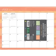 "2016-2017 TF Publishing 8.5"" x 11"" Stripes Binder Calendar Academic Year (17-6248A)"