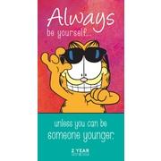 "2017-2018 TF Publishing 6.5"" x 3.5"" Garfield 2 Year Pocket Calendar  (17-7004)"