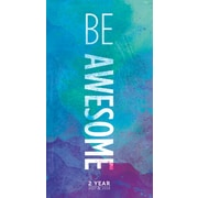 "2017-2018 TF Publishing 6.5"" x 3.5"" Be Awesome 2 Year Pocket Calendar  (17-7023)"