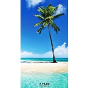 "2017-2018 TF Publishing 6.5"" x 3.5"" Tropical Beaches 2 Year Pocket Calendar  (17-7097)"
