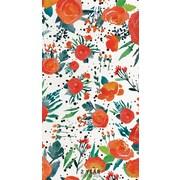 """2017-2018 TF Publishing 6.5"""" x 3.5"""" Floral 2 Year Pocket Calendar  (17-7205)"""