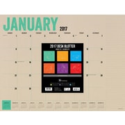 "2017 TF Publishing 22"" x 17"" Kraft Desk Blotter  (17-8215)"