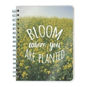 "2017 TF Publishing 8.5"" x 7"" Bloom Spiral Engagement Planner 12 Month (17-9083)"
