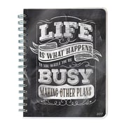 """2017 TF Publishing 8.5"""" x 7"""" Chalk  Plans Spiral Engagement Planner 12 Month (17-9152)"""