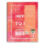 """2017 TF Publishing 11"""" x 9.25"""" Never Too Late Perfect Planner 12 Month (17-9552)"""