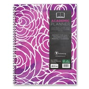 "2016-2017 TF Publishing 11"" x 9.25"" Purple Passion Perfect Planner Academic Year (17-9605A)"