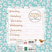 "TF Publishing 7.75"" x 7.75"" Susan Branch Weekly Desk Pad (20-0033)"
